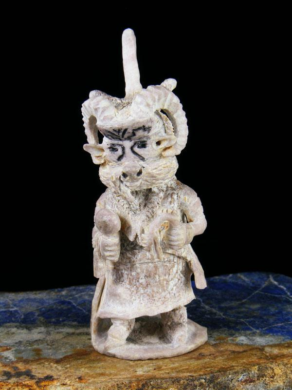 Antler Ram Dancer Zuni Fetish Carving