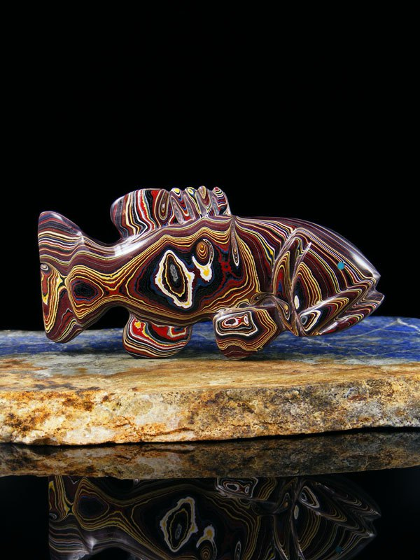 Fordite Fish Fetish