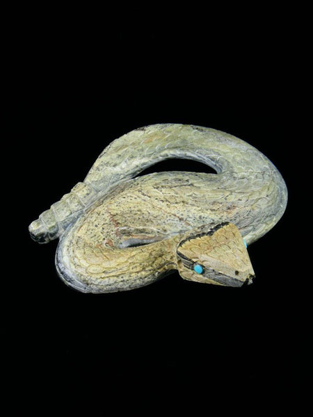 Serpentine Snake Zuni Fetish