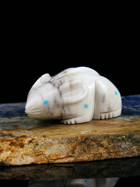 Marble Mouse Zuni Fetish
