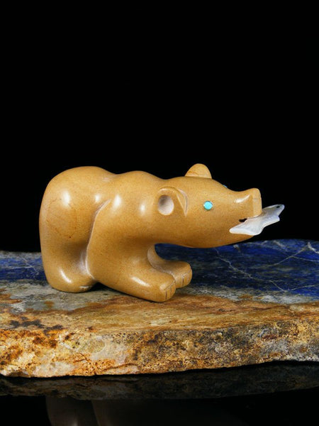 Picture Jasper Bear Zuni Fetish