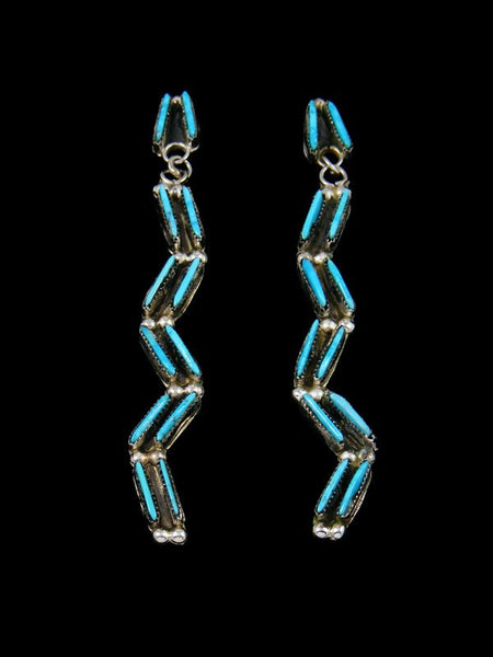 Native American Indian Jewelry Turquoise Post Earrings