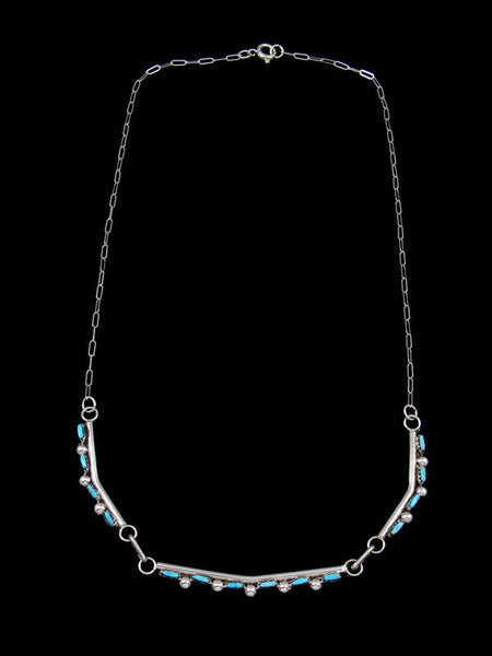 Native American Zuni Turquoise Necklace Choker