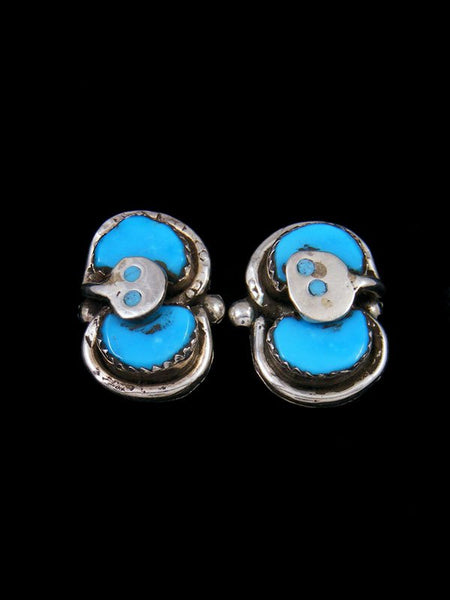 Native American Indian Jewelry Zuni Earrings