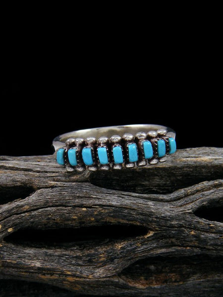 Natural Sleeping Beauty Turquoise Ring, size 7