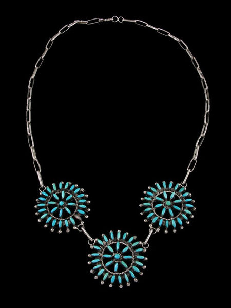 Native American Zuni Turquoise Necklace