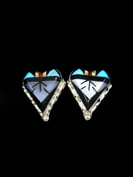 Sterling Silver Zuni Post Earrings