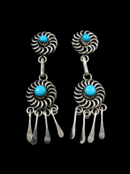 Native American Indian Jewelry Zuni Post Earrings