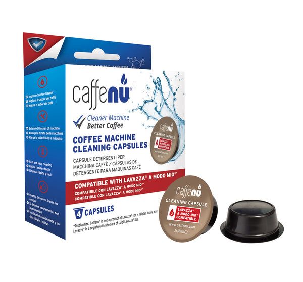 Caffenu - 4x Cleaning Capsules for A Modo Mio Machines