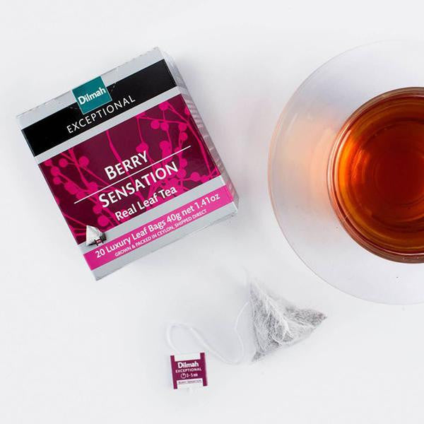 Dilmah Exceptional Teabag Range