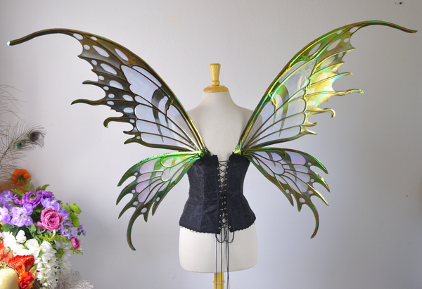 Extra Large / Giant Official Nene Thomas Painted Fairy Wings - MADE TO ORDER