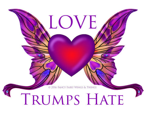 Love Trumps Hate Graphic