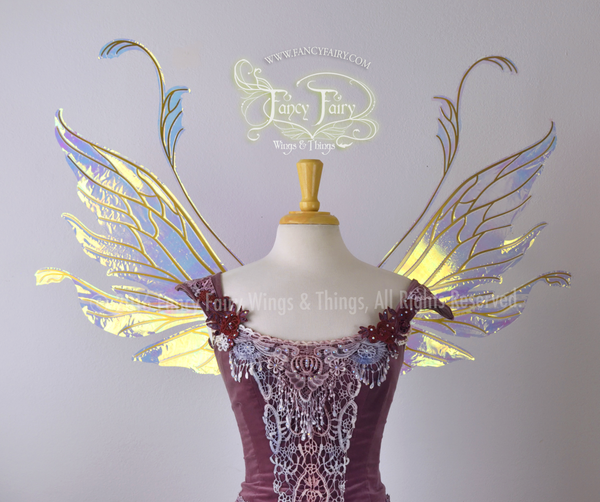 Made to Order Vivienne Iridescent Fairy Wings