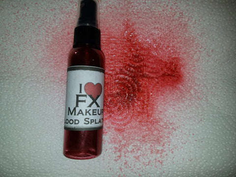 Blood Splatter - I Love FX Makeup