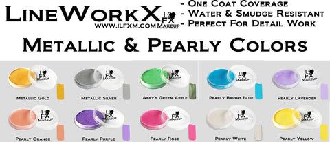LineWorkX™ Pearly Colors