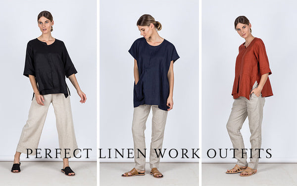 Perfect Linen Work Outfits