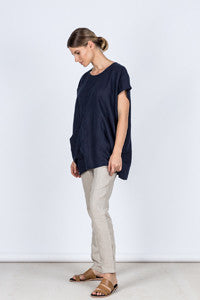 Judy Top Side Kelsey Collective Linen Clothing