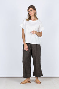 Sophia Top Front Kelsey Collective Linen Clothing