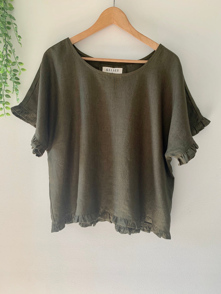 Liss Top Olive