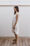 Sasha Dress Warm White