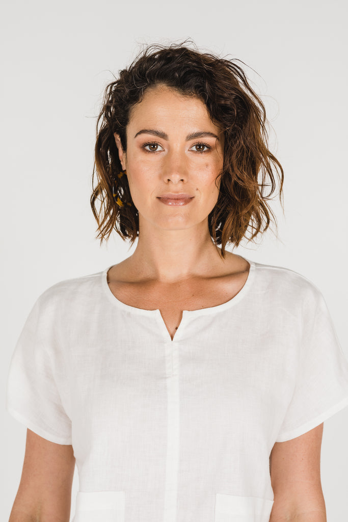 Zoe Top Warm White