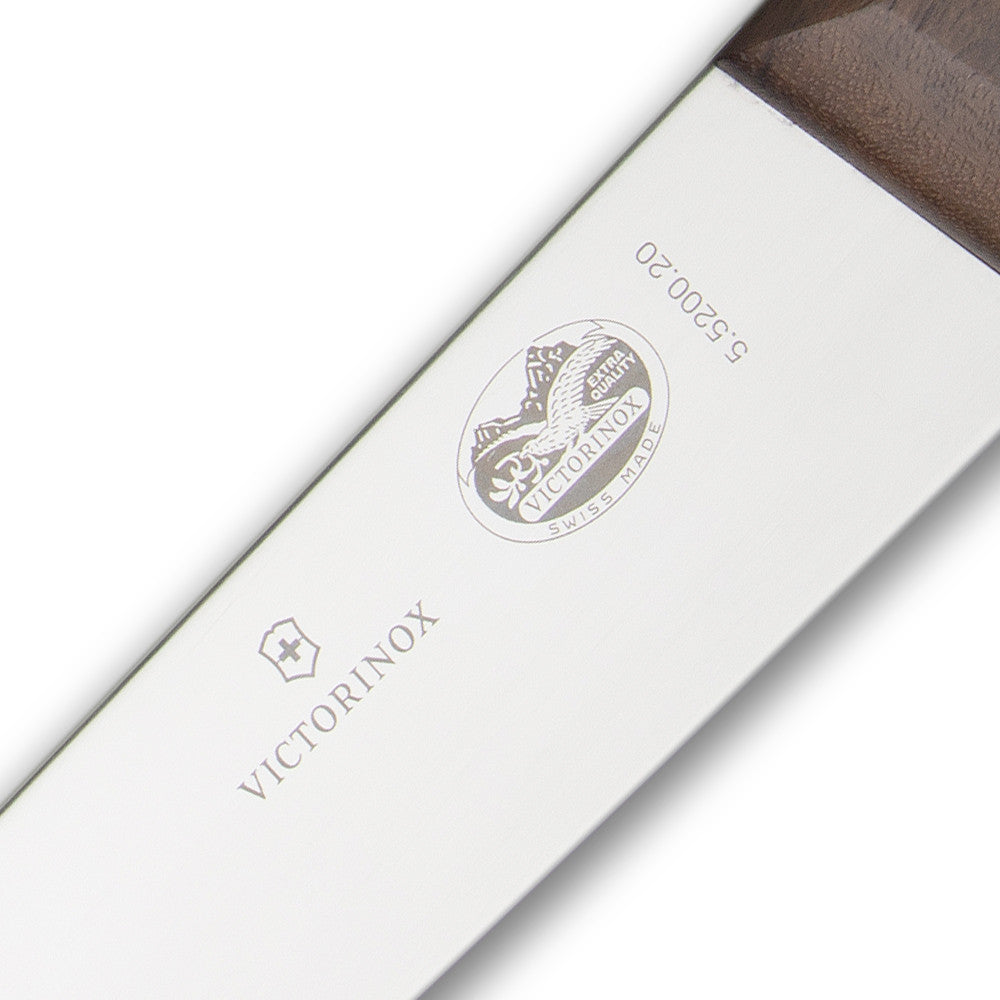 Victorinox Rosewood Handle Broadblade Butcher Knife 20 cm or about 8 inch (5.5200.20)