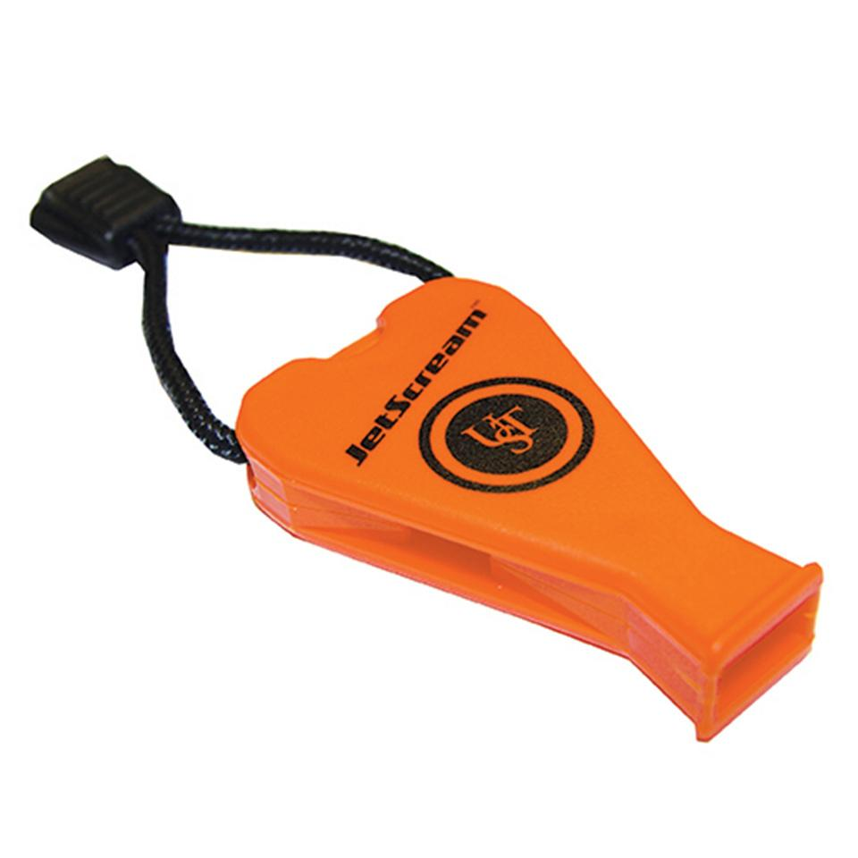 UST Jetscream Floating Survival Whistle, Very Loud for Emergency, Camping and Outdoor Use (Wisel penyelamat)