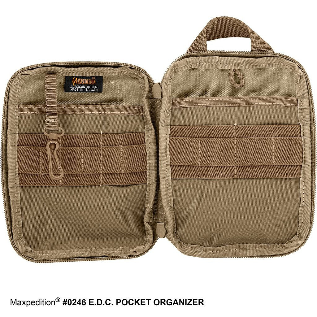 Maxpedition EDC Pocket Organizer (Khaki) ORIGINAL PRODUCT
