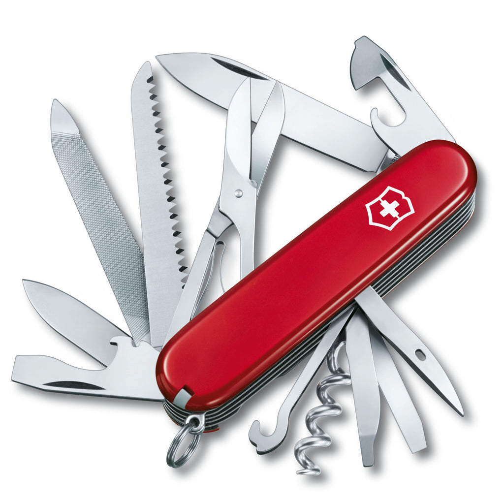 Victorinox Swiss Army Knife - Ranger, Red Color (1.3763)