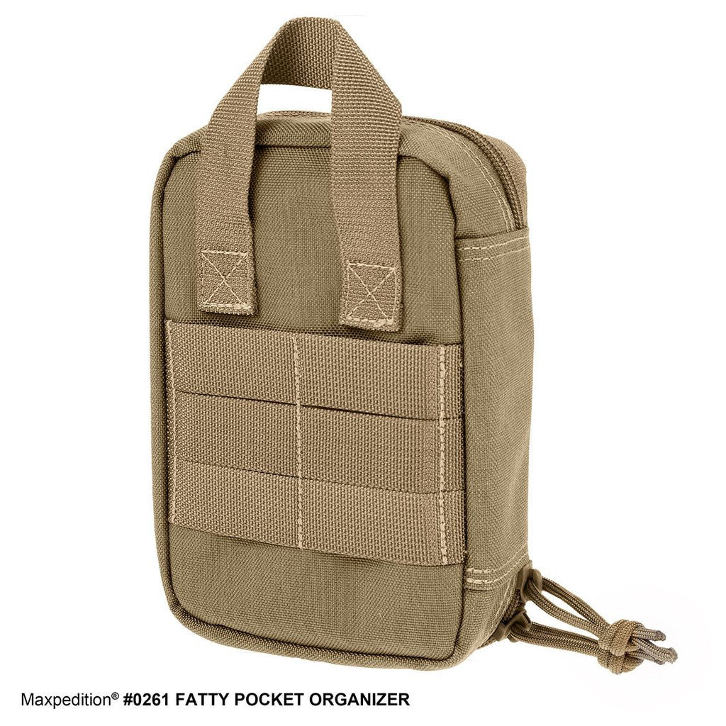 Maxpedition Fatty Pocket Organizer (Khaki) ORIGINAL PRODUCT
