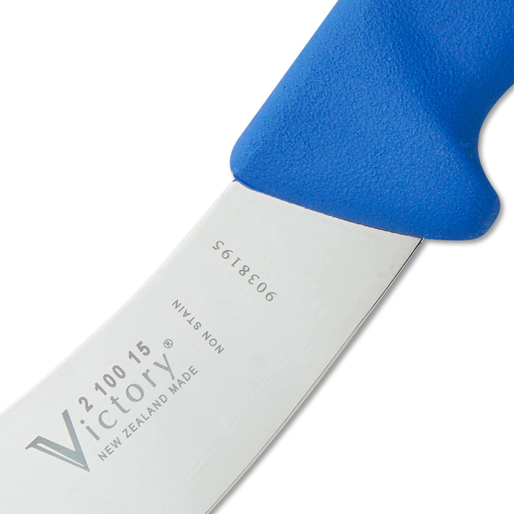 Victory 6 Inch Skinning Knife Progrip (Blue Handle) 210015115 ORIGINAL PRODUCT