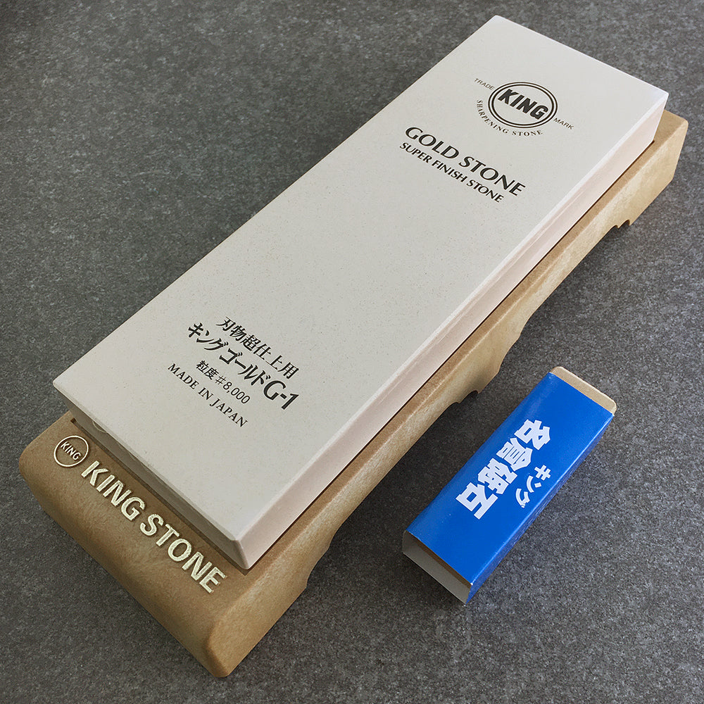 KING 8000 Grit Whetstone for Finishing & Polishing (Original)