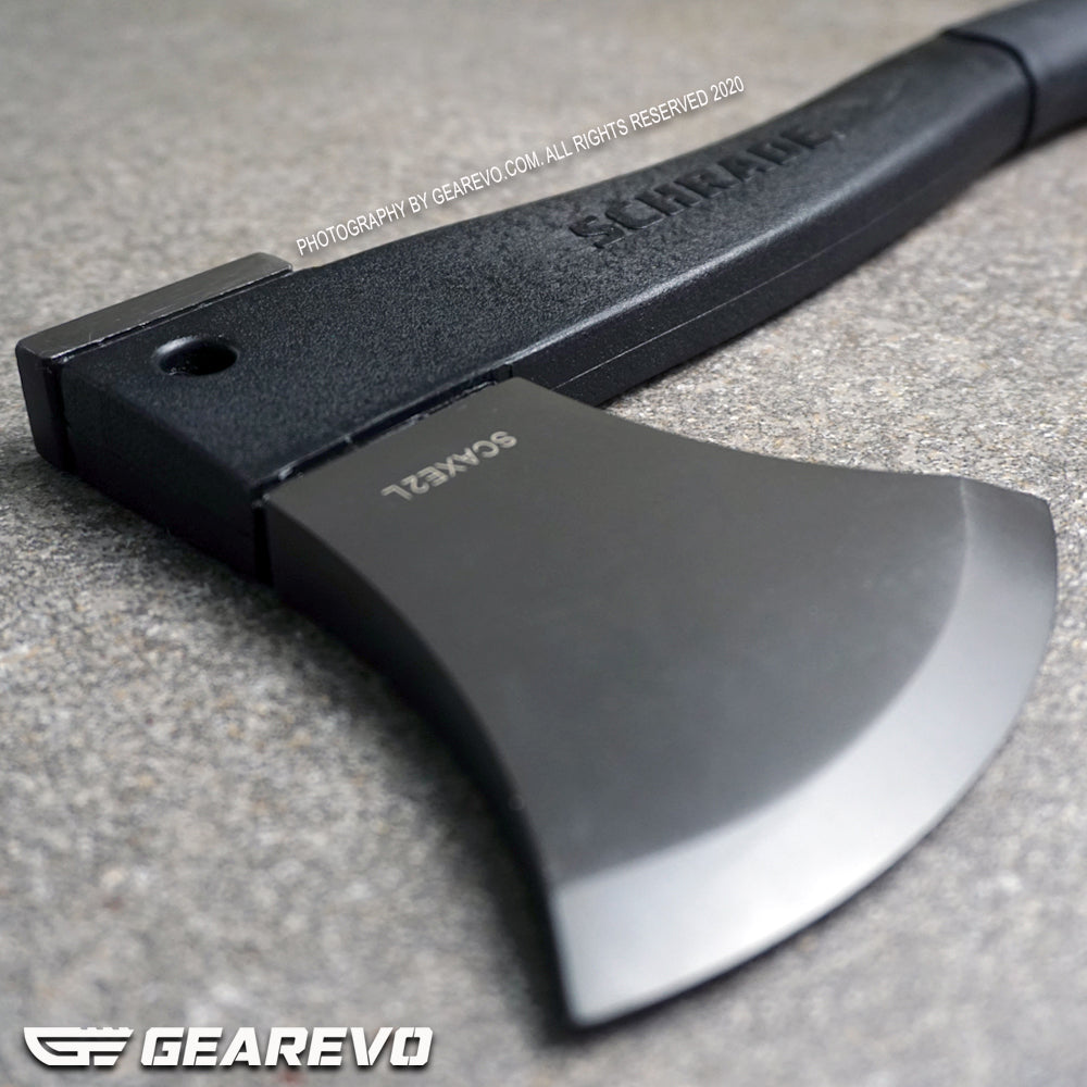 Schrade Survival Axe with Ferro Rod and Sharpener SCHAXE2L (Original)