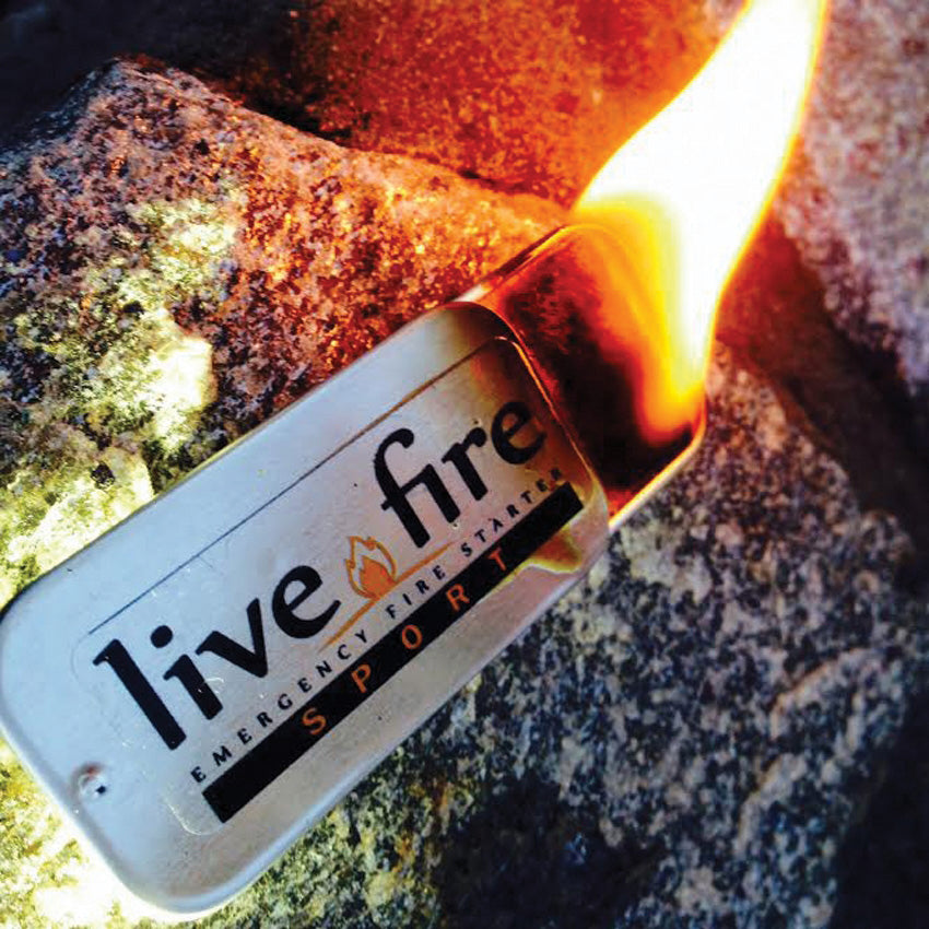 LIVE FIRE - Fire Starter - Large Version (Original Product)