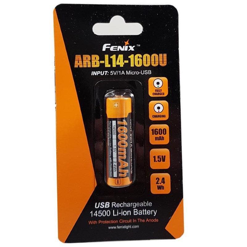 Fenix ARB-L18-2600 18650 Battery (2600mAh)