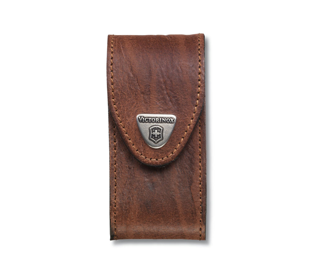 Victorinox Swiss Army Knife Leather Pouch, brown (4.0545) (big)