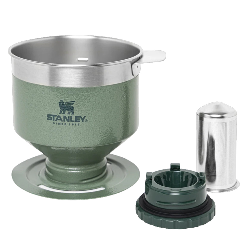 STANLEY® Classic Perfect-Brew Pour Over (Hammertone Green)