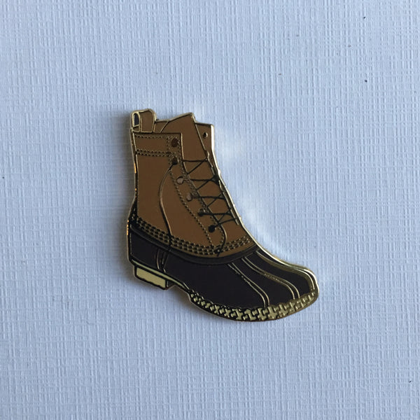 Maine - Duck Boot Pin