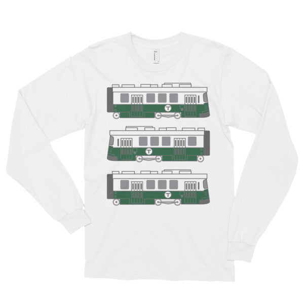 Boston - Green Line Long Sleeve T-Shirt
