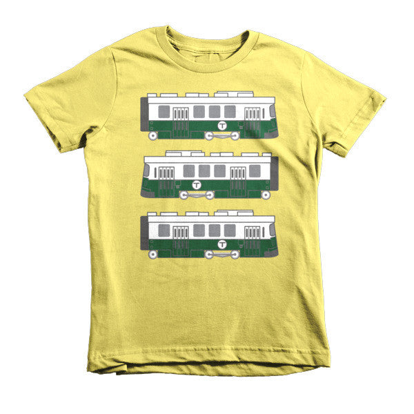 Boston - Green Line Youth (8-12yrs) T-Shirt