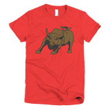 NYC - Charging Bull Women's T Shirt