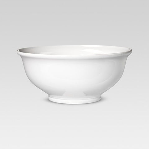 Large White Serving Bowl