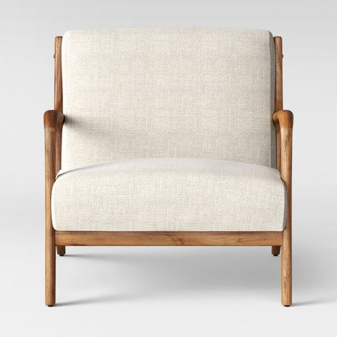 Cream Armchair
