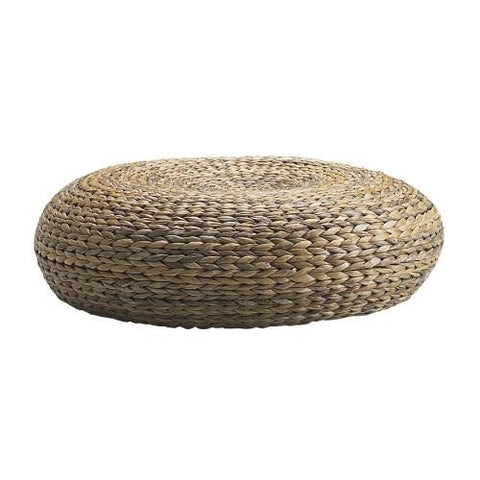 Natural Rattan Floor Stool/Pouf