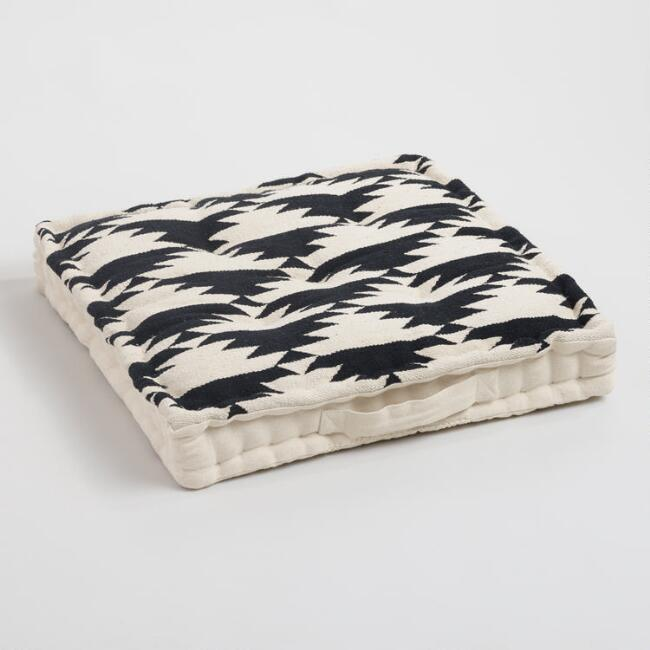 Black & White Floor Cushion
