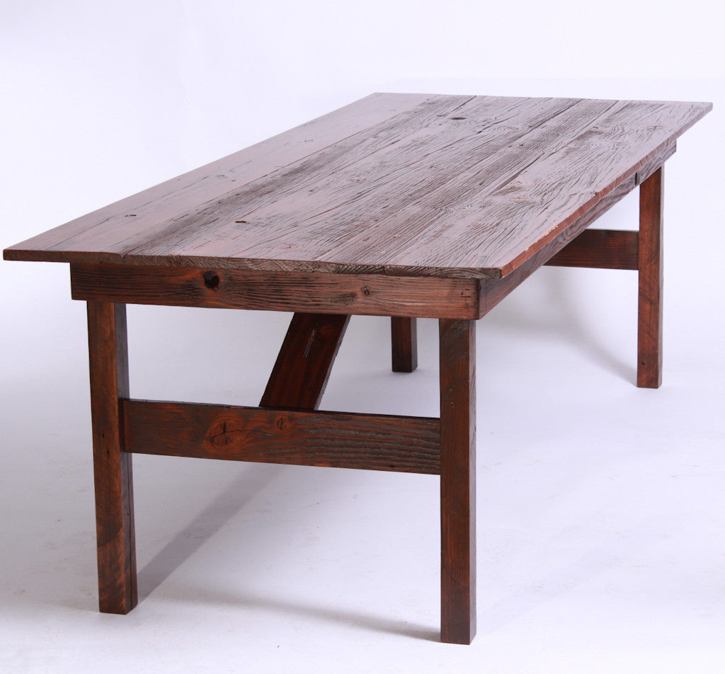 Reclaimed Barnwood Tables