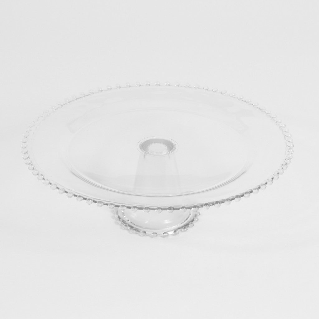 Cake Stand- Glass Beaded