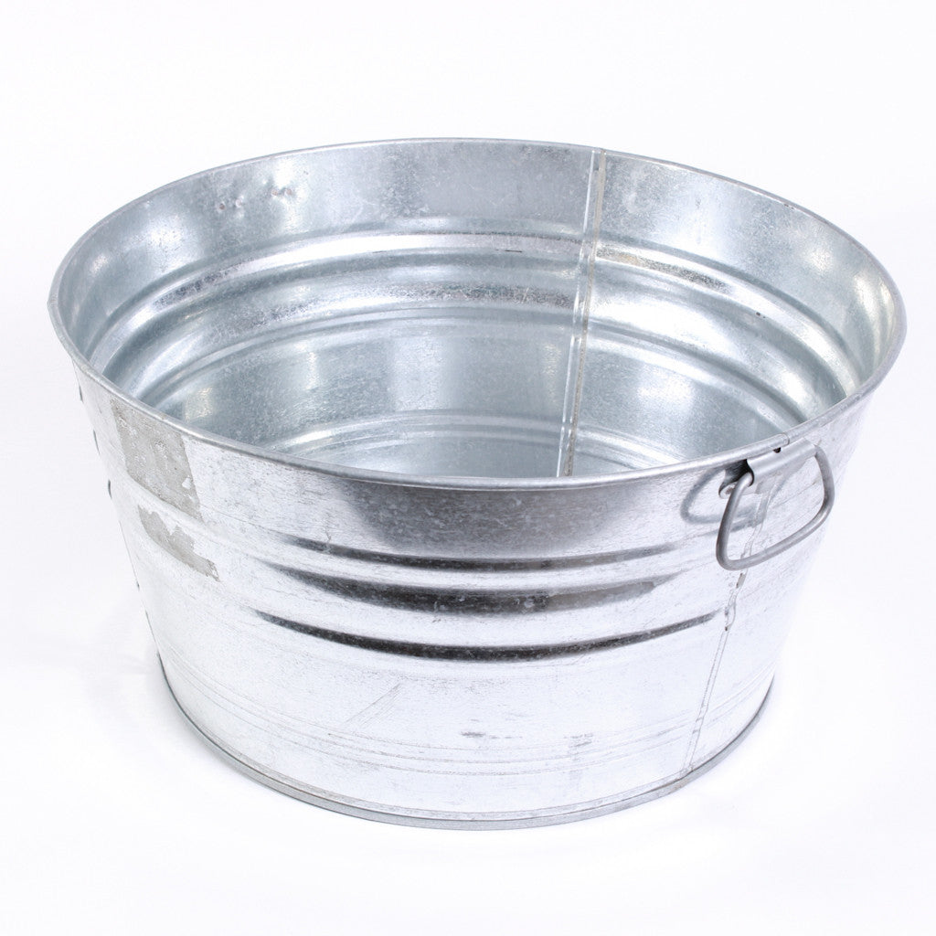 Galvanized Tub - 15 Gallon