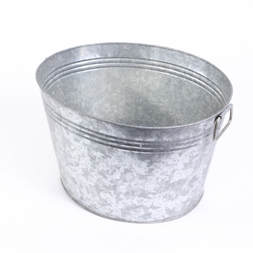 Galvanized Tub- 7 Gallon Oval