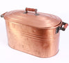 Copper Oval Tub